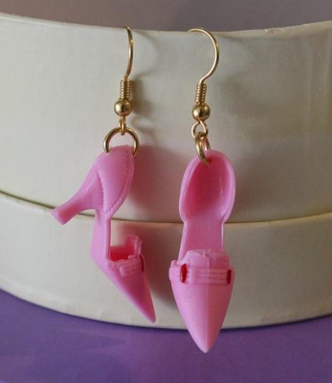 Schuh-Ohrringe *Cinderella*
