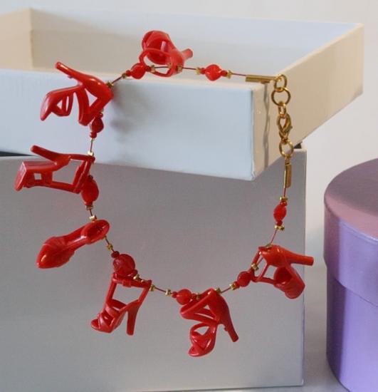 Armband mit Schuhen *Lorelai*