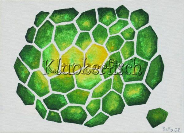 Acrylbild *Zellen*