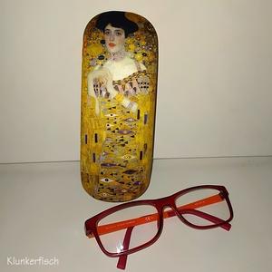 """Brillenetui mit """"Adele"""" von Gustav Klimt"""