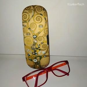 """Brillenetui mit Gustav Klimts """"Lebensbaum"""""""
