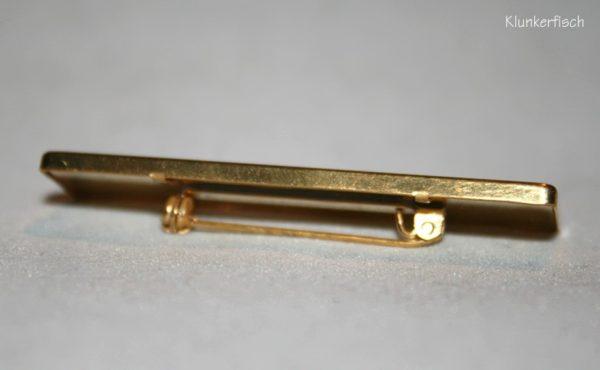 Moderne und elegante Brosche *Gold*