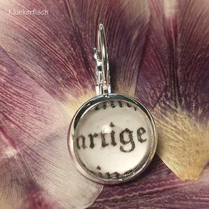 Single-Ohrring mit Brisur *artige*