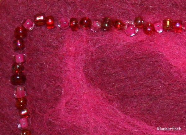 Filz-Haarspange *Rani Pink*
