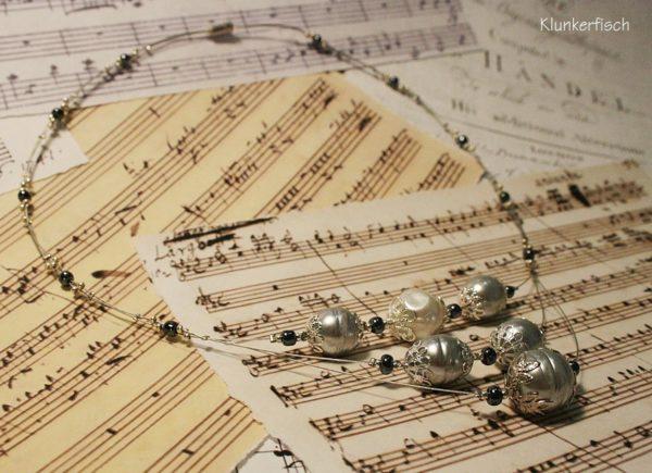 Halskette *Silber barock(t)!*