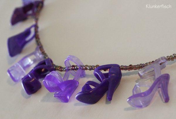 Halskette mit Schuhen *Laverne*