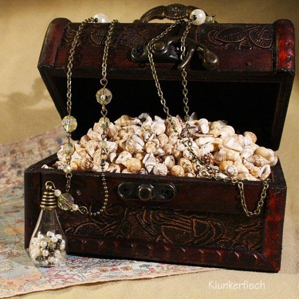 Bronze-Halskette *Perlenschatz*