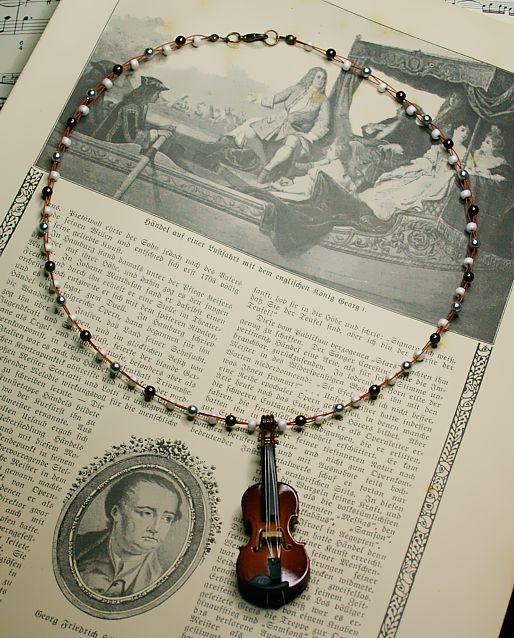 Halskette *Solo für Bratsche*