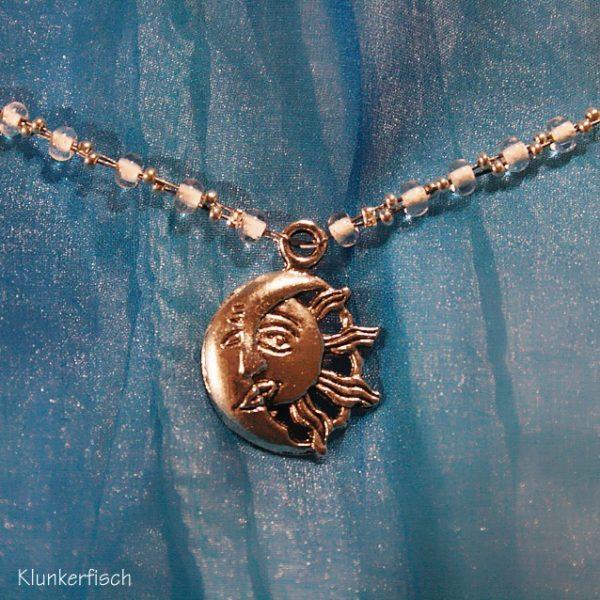 Halskette *Sonne küsst Mond*