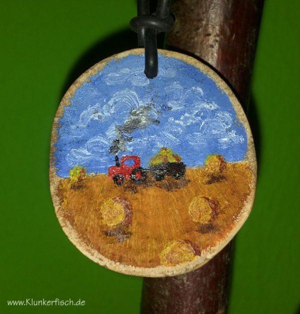Miniatur-Bild als Medaillon *Erntezeit*
