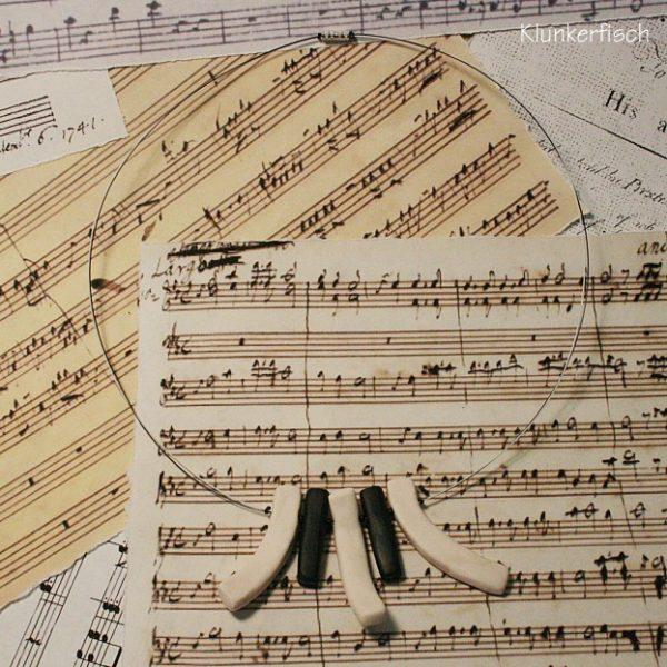 Halskette *Kleines Klavier*