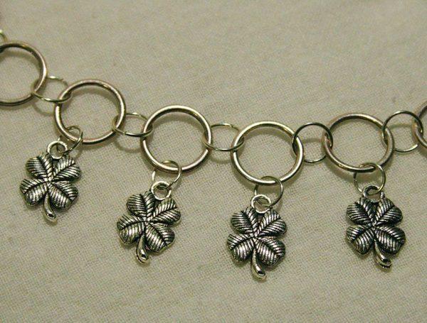 Halskette *Silberner Klee*