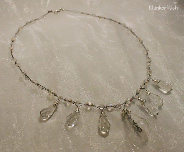 Opulente Halskette *Eiskönigin*