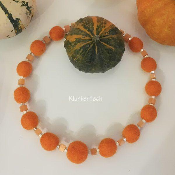 Halskette *Oktober-Morgen*