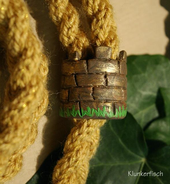 Halskette und Schal *Rapunzel*