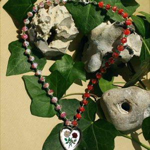 Halskette *Schneeweißchen & Rosenrot*