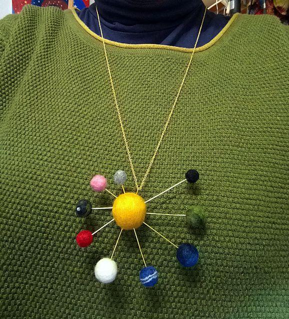 Halskette *Planetensystem*