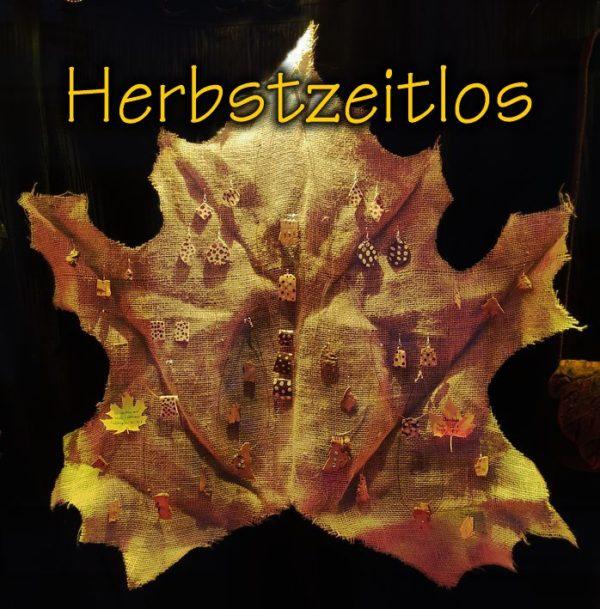 Herbstzeitlos - Schmuck aus Kork und Keramik