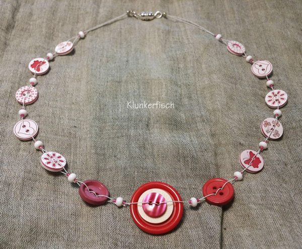 Knopf-Halskette *Georgiana*