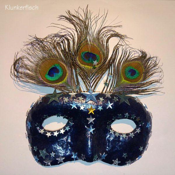 Venezianische Stab-Maske *Polaris*