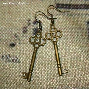 Ohrringe *Alice's Schlüssel* Nr. I