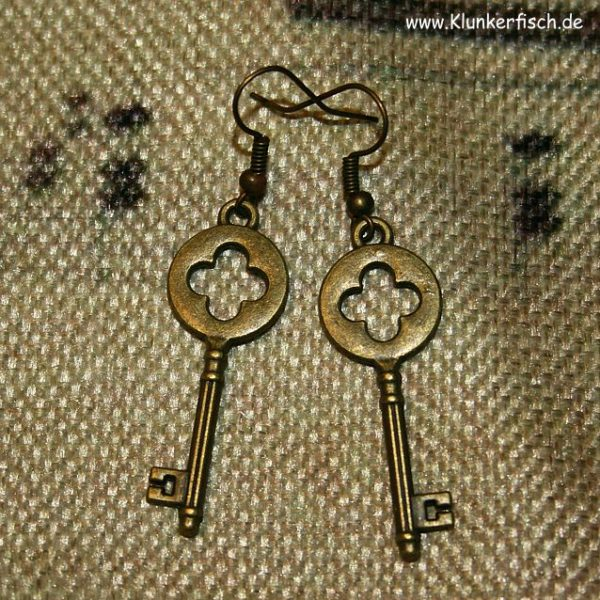 Ohrringe *Alice's Schlüssel* Nr. II