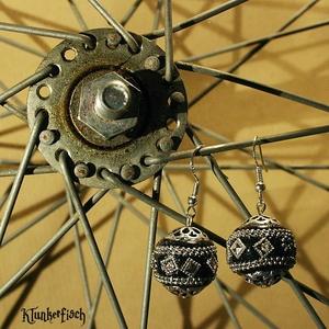 Ohrringe mit indischen Kashmiri-Perlen Nr. 2