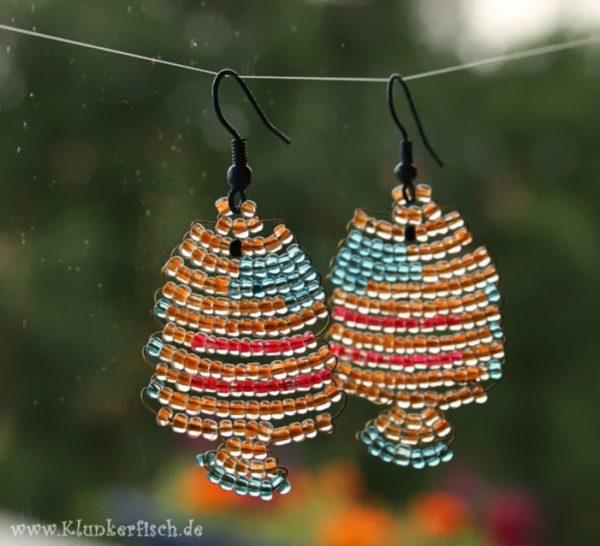 Fisch-Ohrringe *Schmetterlingsfisch*
