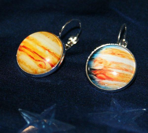 Brisur-Ohrringe *Jupiter*