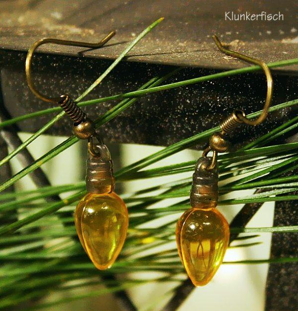 Ohrringe *Lichter in Gelb*