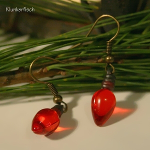 Ohrringe *Lichter in Rot*