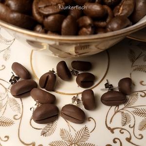 Ohrstecker *Kaffeeböhnchen*