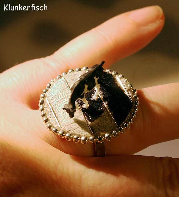 Fingerring *Gestreifte Kuh*