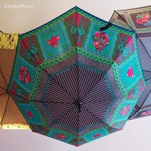 Designer-Regenschirm / Stockschirm *Zebra's Garden*