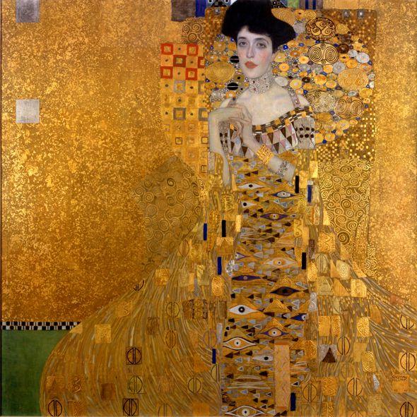 Gustav Klimt: Bildnis der Adele Bloch-Bauer