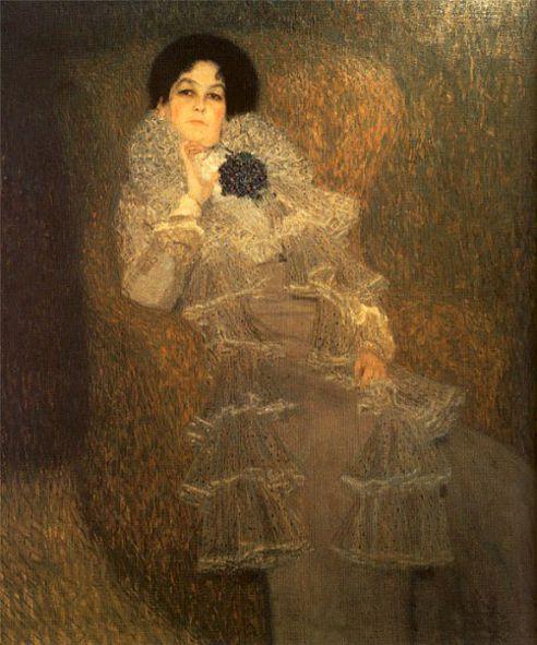 Gustav Klimt: Bildnis der Marie Henneberg