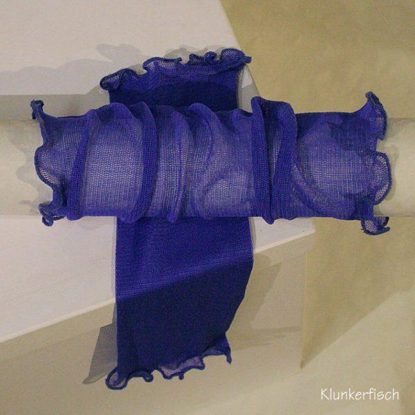 Handstulpen aus Seide in Violett