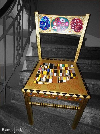Gustav-Klimt-Stuhl (unverkäuflich)
