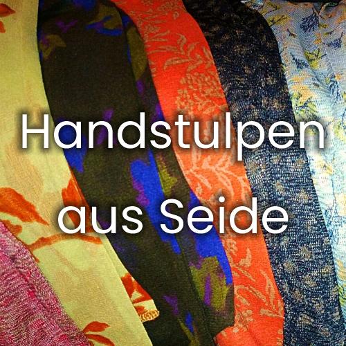 Handstulpen aus Seide
