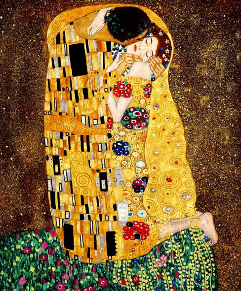 Gustav Klimt: Der Kuss