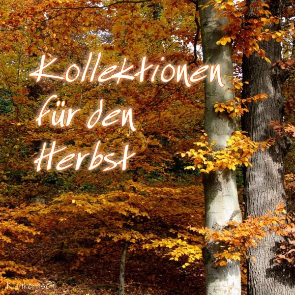 Kollektionen für den Herbst