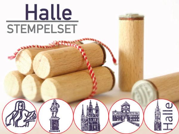 Stempelset Halle (Saale)