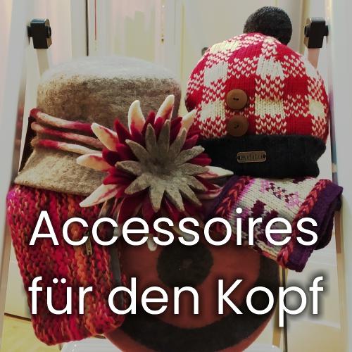 Accessoires für den Kopf