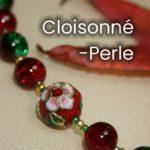 Cloisonné-Perle