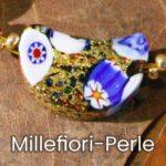 Millefiori-Perle