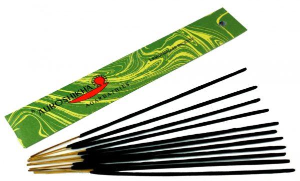 Indische Räucherstäbchen: Auroshikha Lemongrass Incense