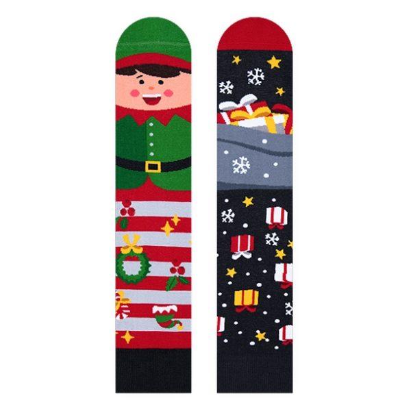 Socken *Weihnachtself*