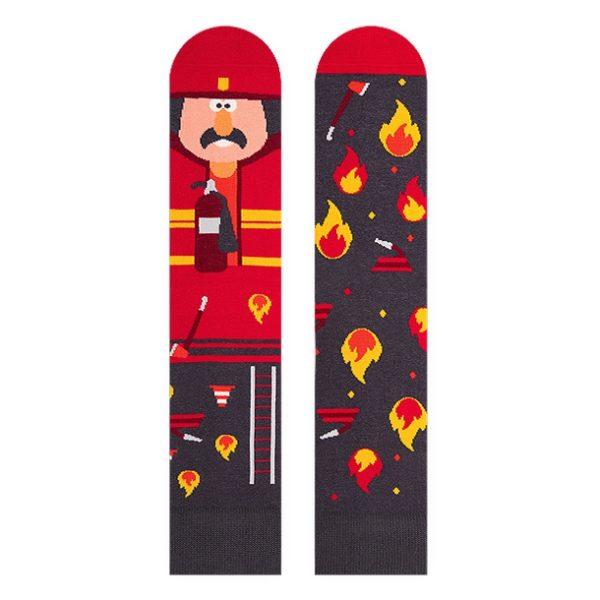 Socken *Feuerwehrmann*