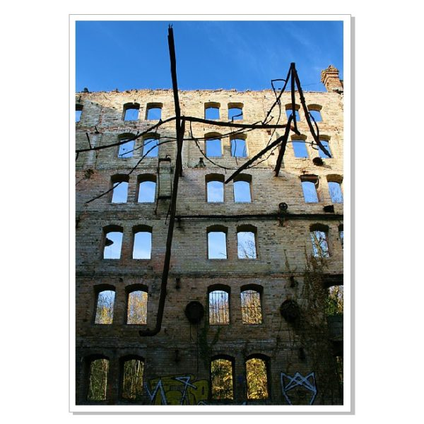 Böllberger Mühle: Leere Fenster