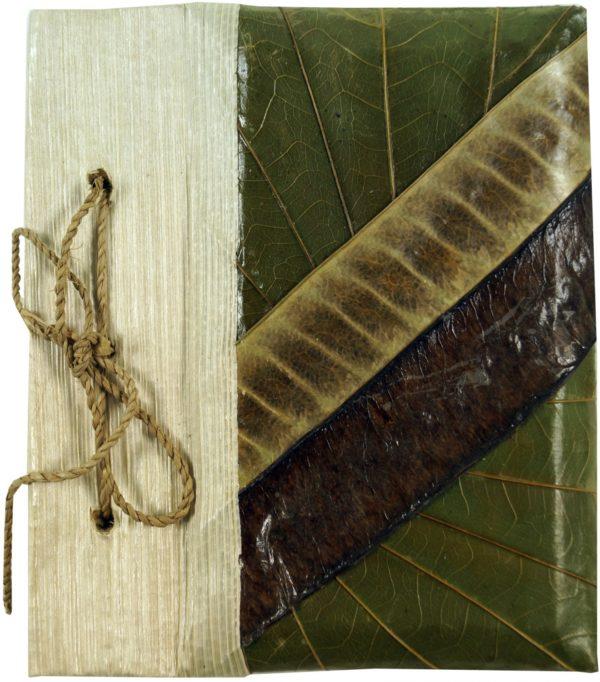 Notizbuch aus Bananenblättern